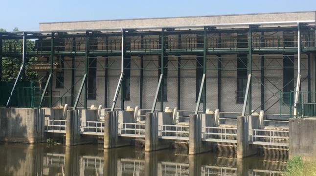 Nieuwbouw waterkering voor waterbeheersng